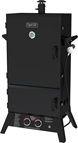 Dyna-Glo DGW1904BDP-D 43 Wide Body LP Gas Smoker