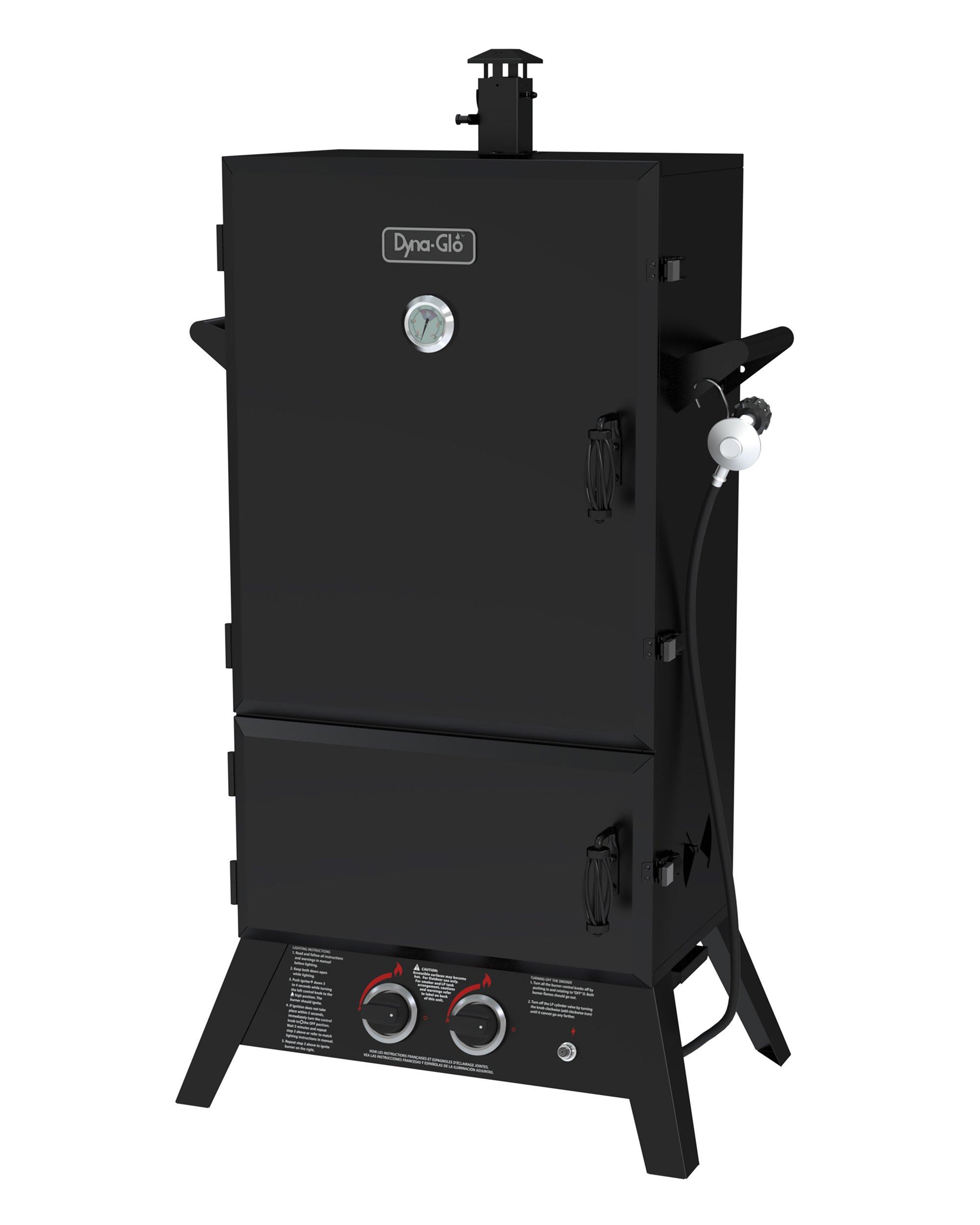 Dyna-Glo DGW1904BDP-D 43'' Wide Body LP Gas Smoker