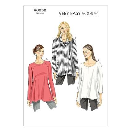 a341a45de8f466 Vogue Patterns Vogue Sewing Patterns VGE 8952 ZZ (Large 16-18 Extra-Large