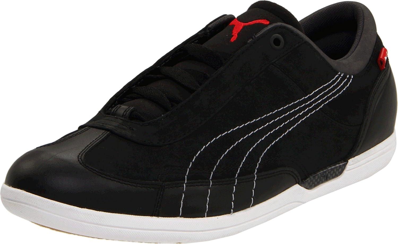 dedo índice Hacia atrás maquinilla de afeitar  Buy Puma Men's D Force Lo Lea Fashion Sneaker, Black/White/Dark Shadow, 14  D US at Amazon.in