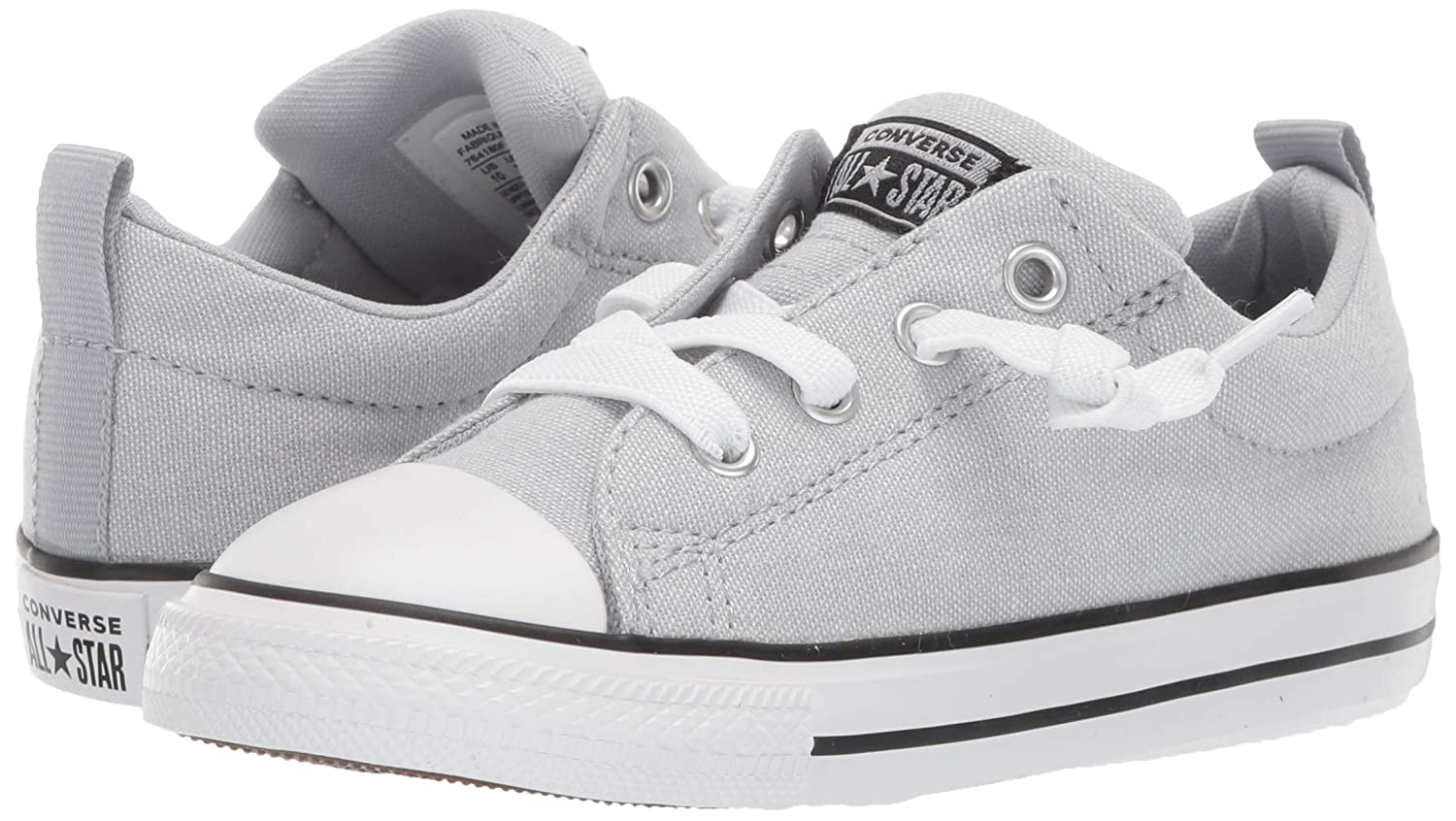 Converse Kids Infant Chuck Taylor All Star Street Knotted Laces Slip on Sneaker
