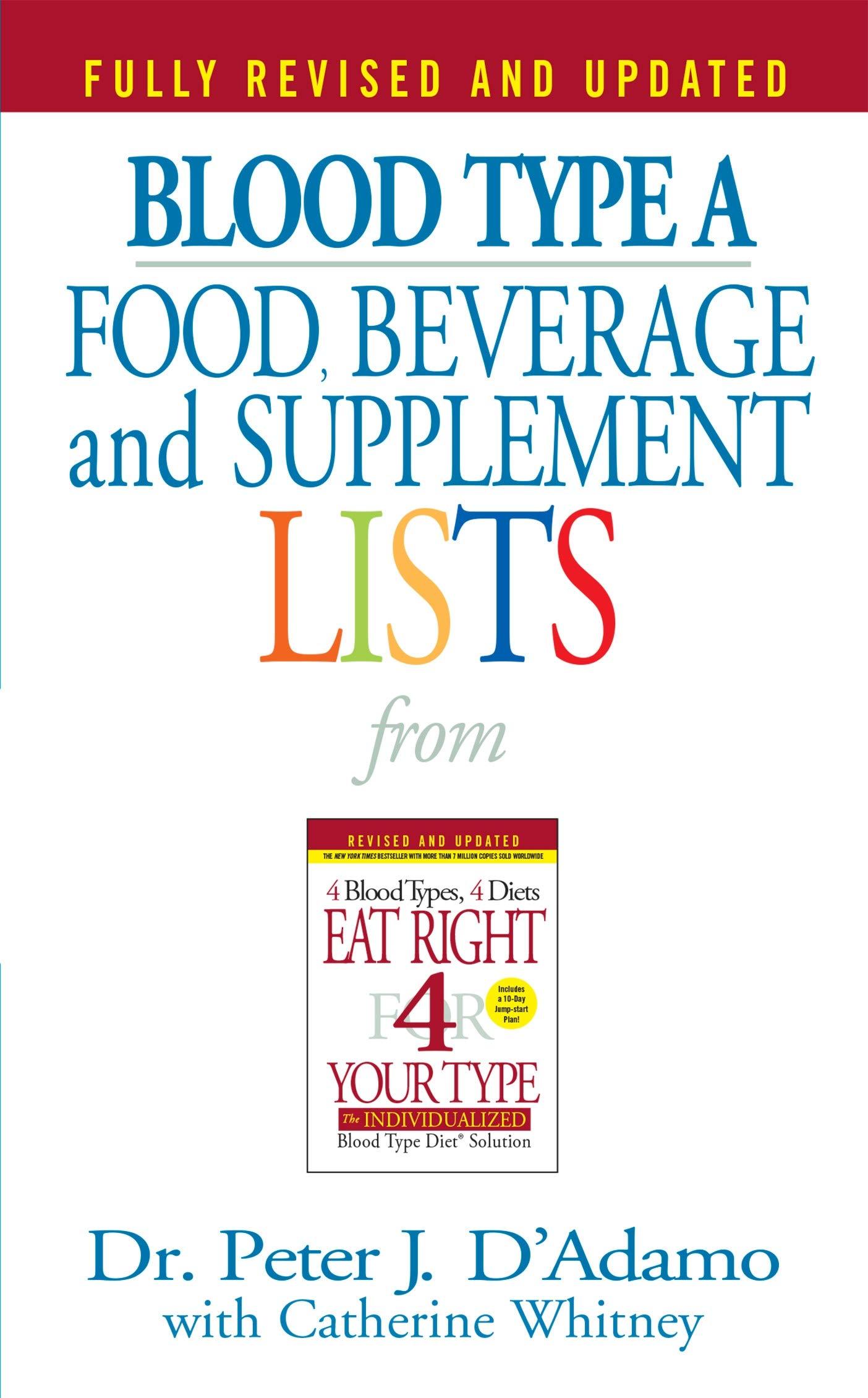 blood type diet meal plan