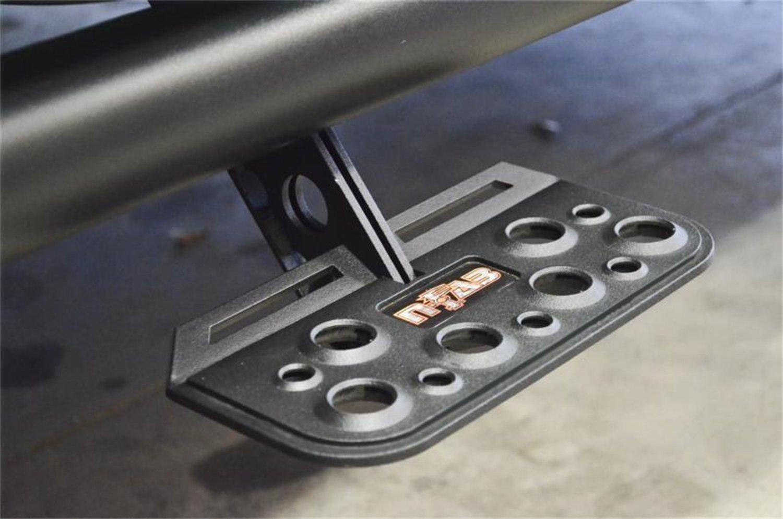 Amazon.com: N-Fab ASU001 AdjustSTEP Add-A-Step Truck Step w/Bed ...