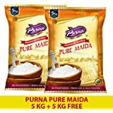 Purna Pure Maida - 5kg (Pack of 2)