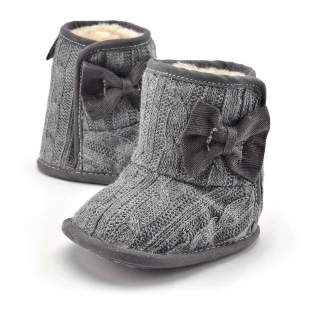 Baby Boots, Womail Winter Warm Infant Newborn Snow Boots Crib Shoes Prewalker Boy Girl
