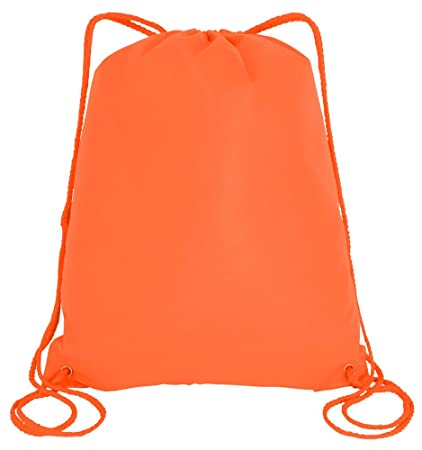 204cf7da51 Amazon.com  50 Pieces - 100gm Non-Woven Polypropylene Drawstring Bag ...