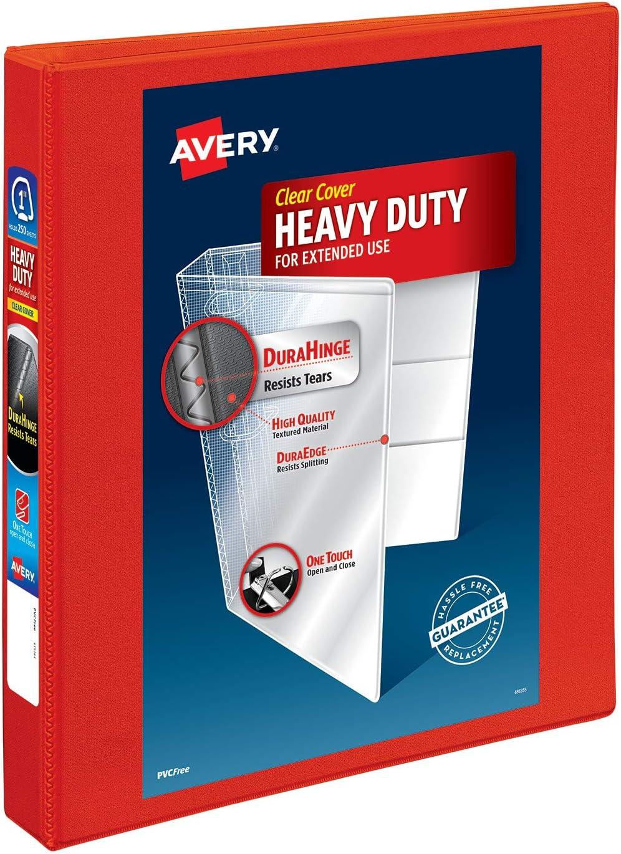Avery Standard 1.5 3-Ring View Binder White 09401CT