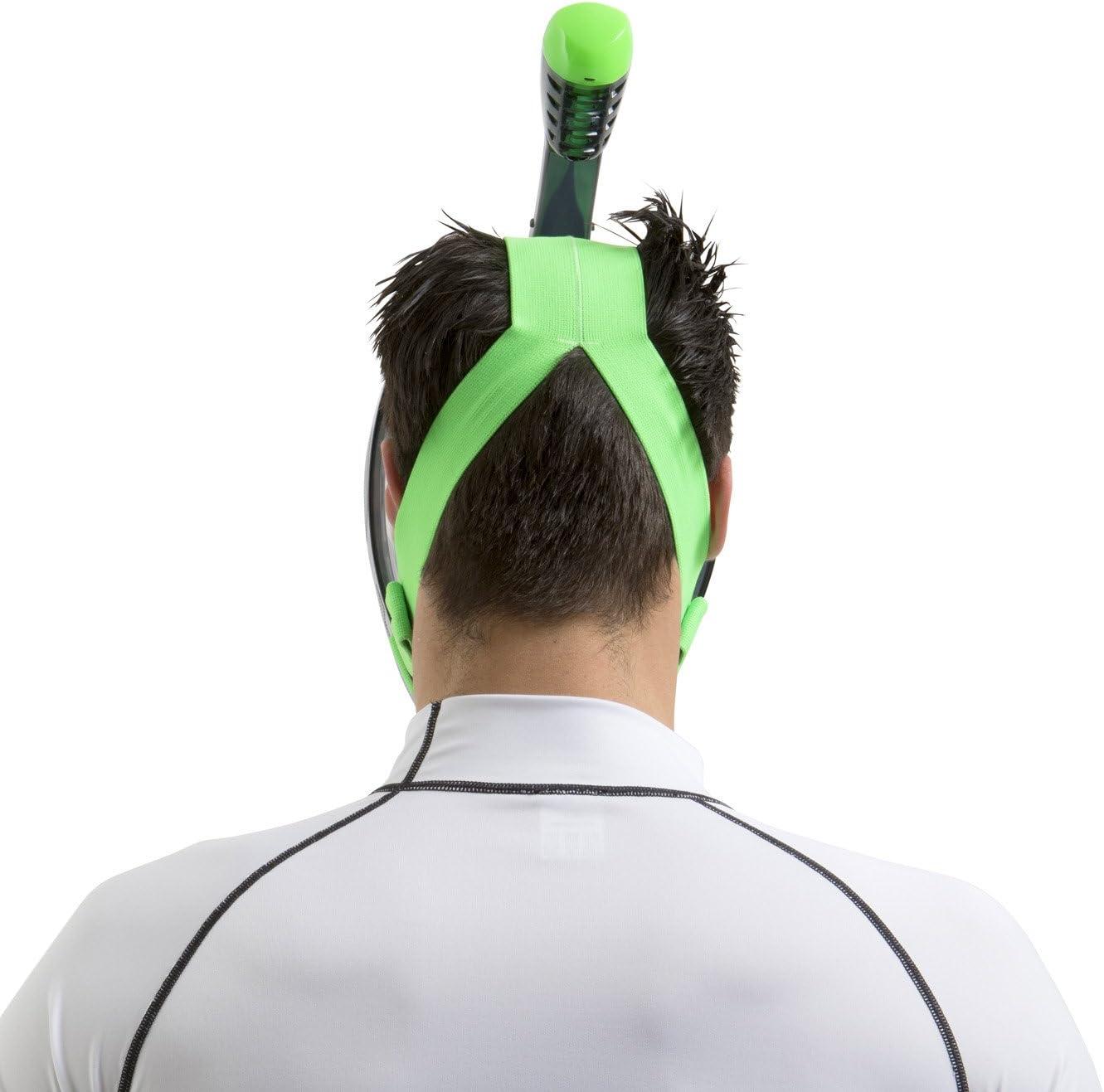 Masque de Plong/ée Int/égral pour le Snorkeling avec Vision /à 180/° Seac Unica