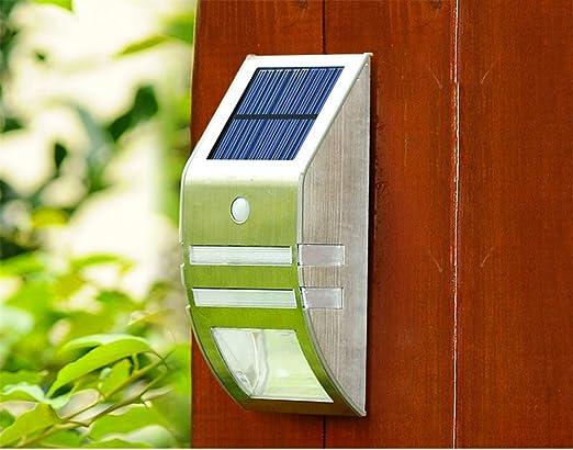 LED Moderna Lámpara de Pared。Solar/Luz/Exterior/Inicio/Impermeable/Aplique de pared/Luz de inducción/LED/Farola/Jardín/Luz/Pasillo/Luz/Luz/Aplique de pared, AWhiteLight: Amazon.es: Iluminación