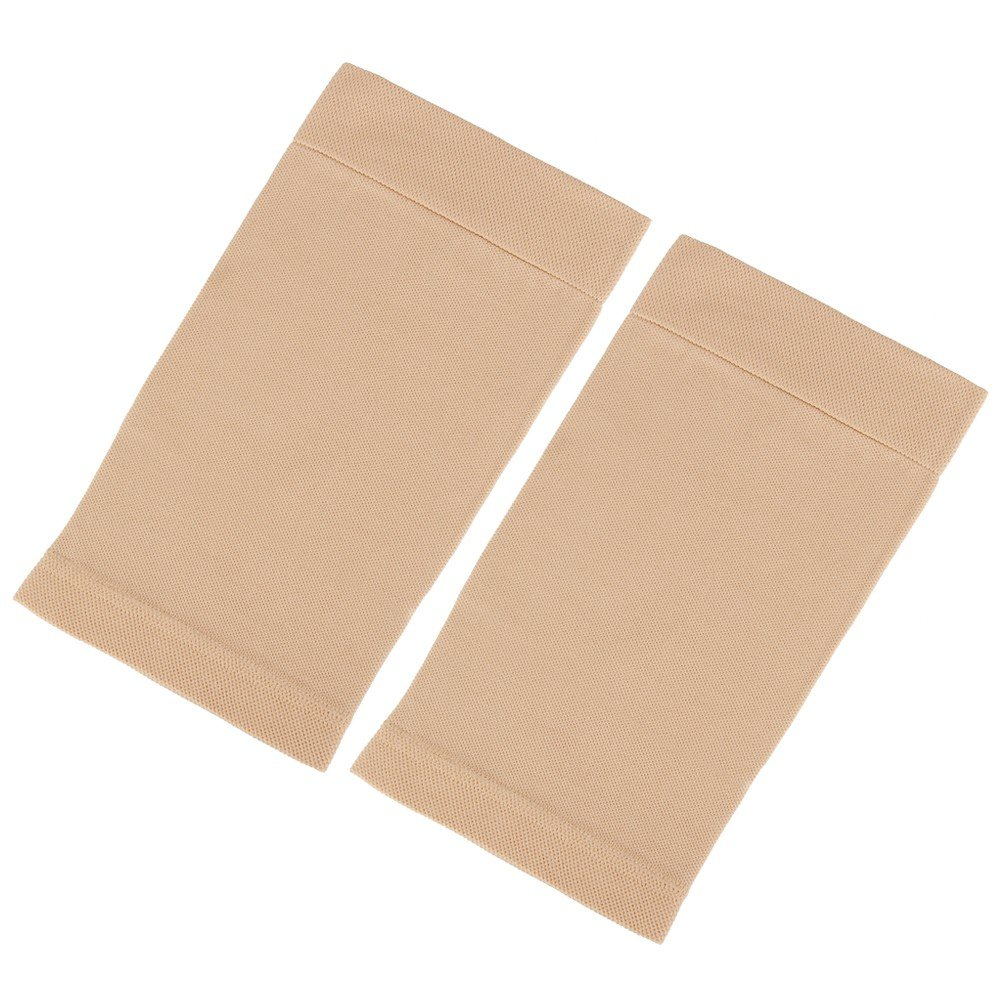 Beauty7 Tan Tattoo Cover Up Sleeve Arm Thigh Jacket Concealer UV Protection (1PC, 330~370mm Top)