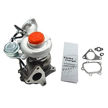 TD04L 49477 - 04000 14411 aa710 Cargador de Turbo para 2008 - 2014 Subaru Impreza WRX GT Forester XT ej255 2,5 L motor: Amazon.es: Coche y moto