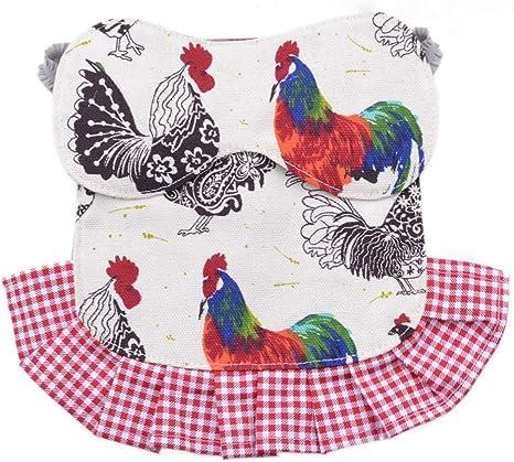 Chicken Flock Feather Proctector Bantam Hen Protector Chicken Saddle Feather Fixer Hen Apron Standard Chicken Apron