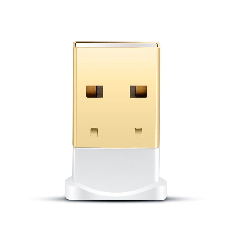 CSL Windows 10 f/ähig neuester Standard Class 4.0 Technologie Plug /& Play A2DP USB 4.0 Bluetooth Adapter