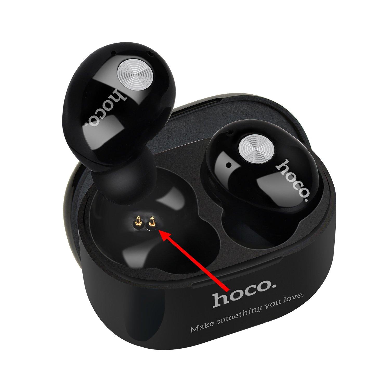 Auténtica HOCO pinhen inalámbrico Bluetooth auriculares Bluetooth 4.1 inalámbrico estéreo Auriculares In-Ear con estuche de carga para iPhone iPad Android ...