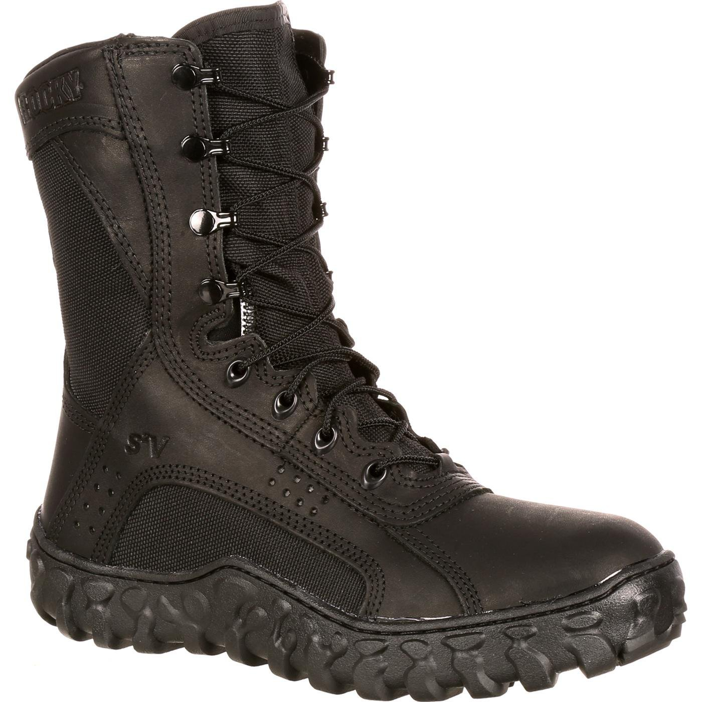 ROCKY Men's FQ0000102 Military and Tactical Boot, Black, 8 W US by ROCKY