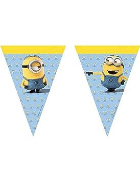 COOLMP - Lote de 12 guirnaldas de banderines Lovely Minions ...