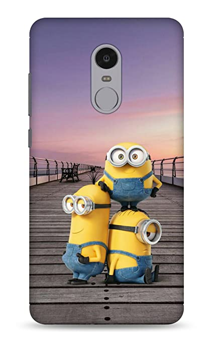 new concept fdd50 5d607 xiaomi note 4 Cases and Covers Minion Redmi Note 4: Amazon.in ...