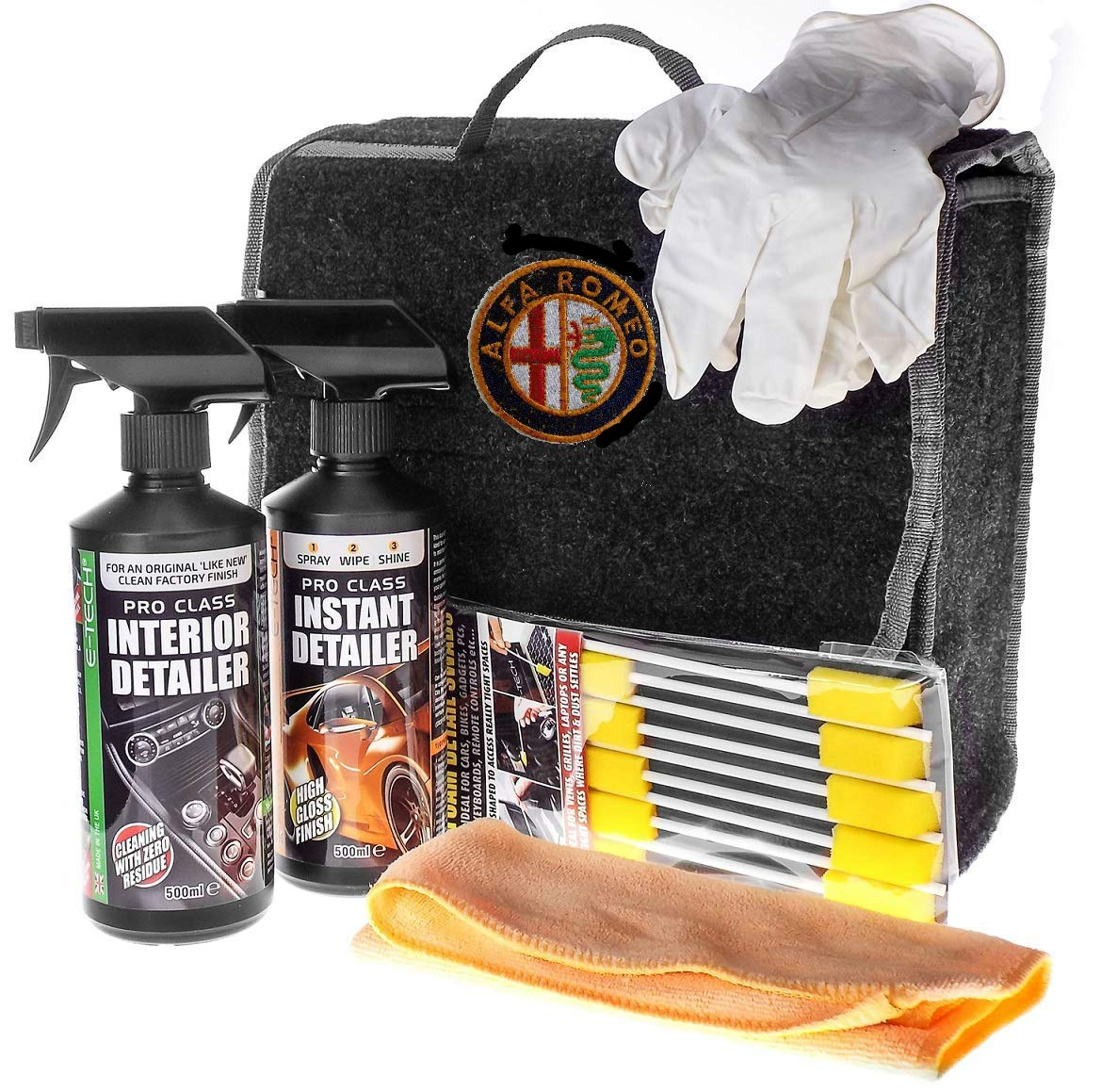 Beetleink ALPHA ROMEO cleaning kit car boot tidy Beetle-Ink Limited