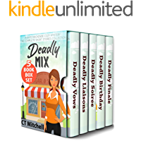 Deadly Mix: A Kate Mackenzie Cozy Mystery: 5 Book Box Set (Bakery Detectives Mystery Series 6)
