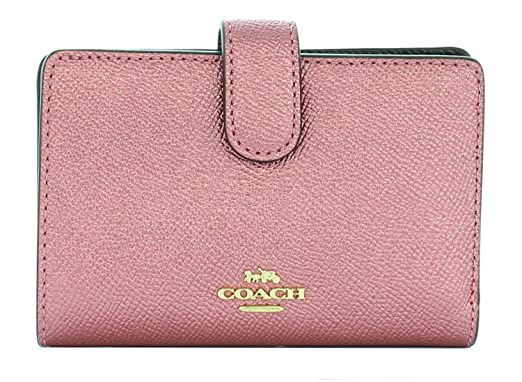 outlet store da06f ffd4c Amazon.co.jp: COACH 【 コーチ レディース/二つ折り財布 ...