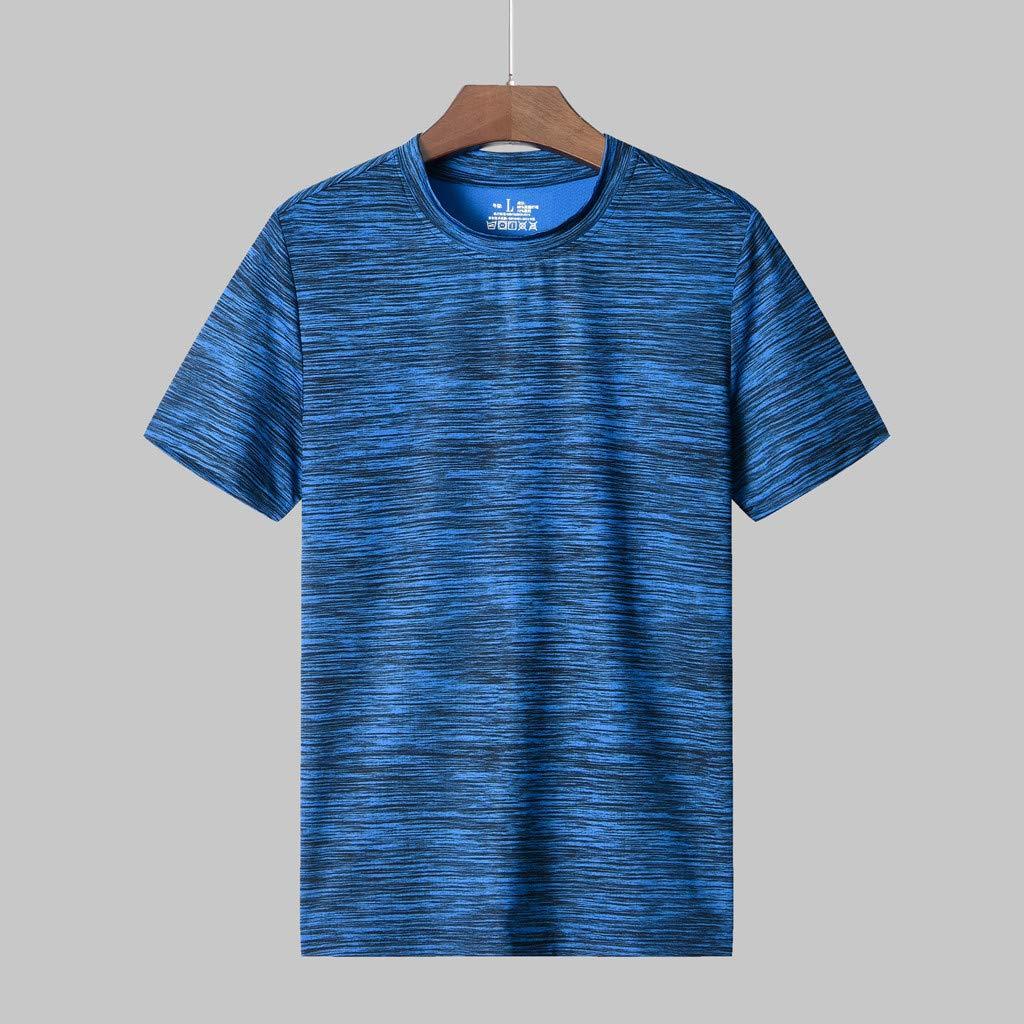 Zulmuliu-Mens T-Shirt,Mens Short Sleeve Classic-Fit Performance Cotton T-Shirt