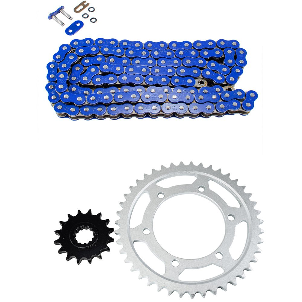 Blue O-Ring Chain and Sprocket Kit for Yamaha YZF-R1 1998 1999 2000 2001 2002 2003
