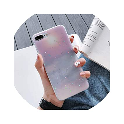 Amazon.com: Funda de silicona de verano para iPhone X 6 6S 7 ...