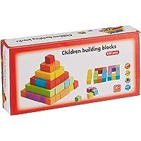 Learning Toys 100'lü Renkli Ahşap Küp Seti