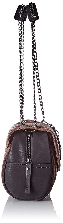 Lollipops Femme Alix Velvet Chain Side Sac porte epaule (Brown) Uyjaw7jB