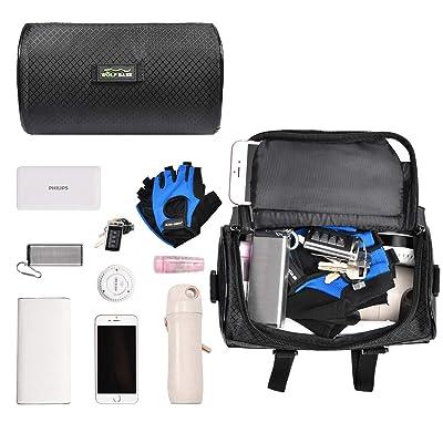 Details about  /Handlebar Bag Shoulder Bike Cycling Front Holder Multifunction Organizer