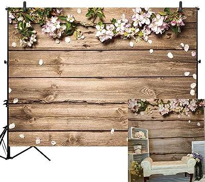 Amazon.com: Allenjoy - Fondo para fotografía de madera ...