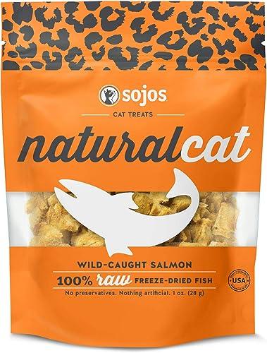 Sojos Natural Cat Salmon Freeze-Dried Treats, 1 oz