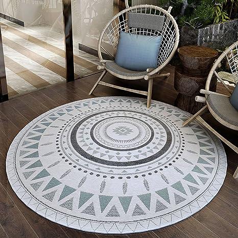 Xuhon Anti Rutsch Runde Teppich Teppich Fur Wohnzimmer