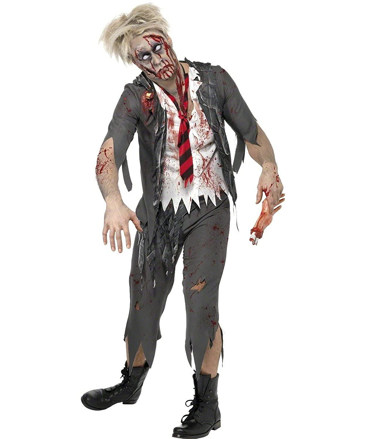 Amazon com smiffys mens high school horror school boy costume clothing