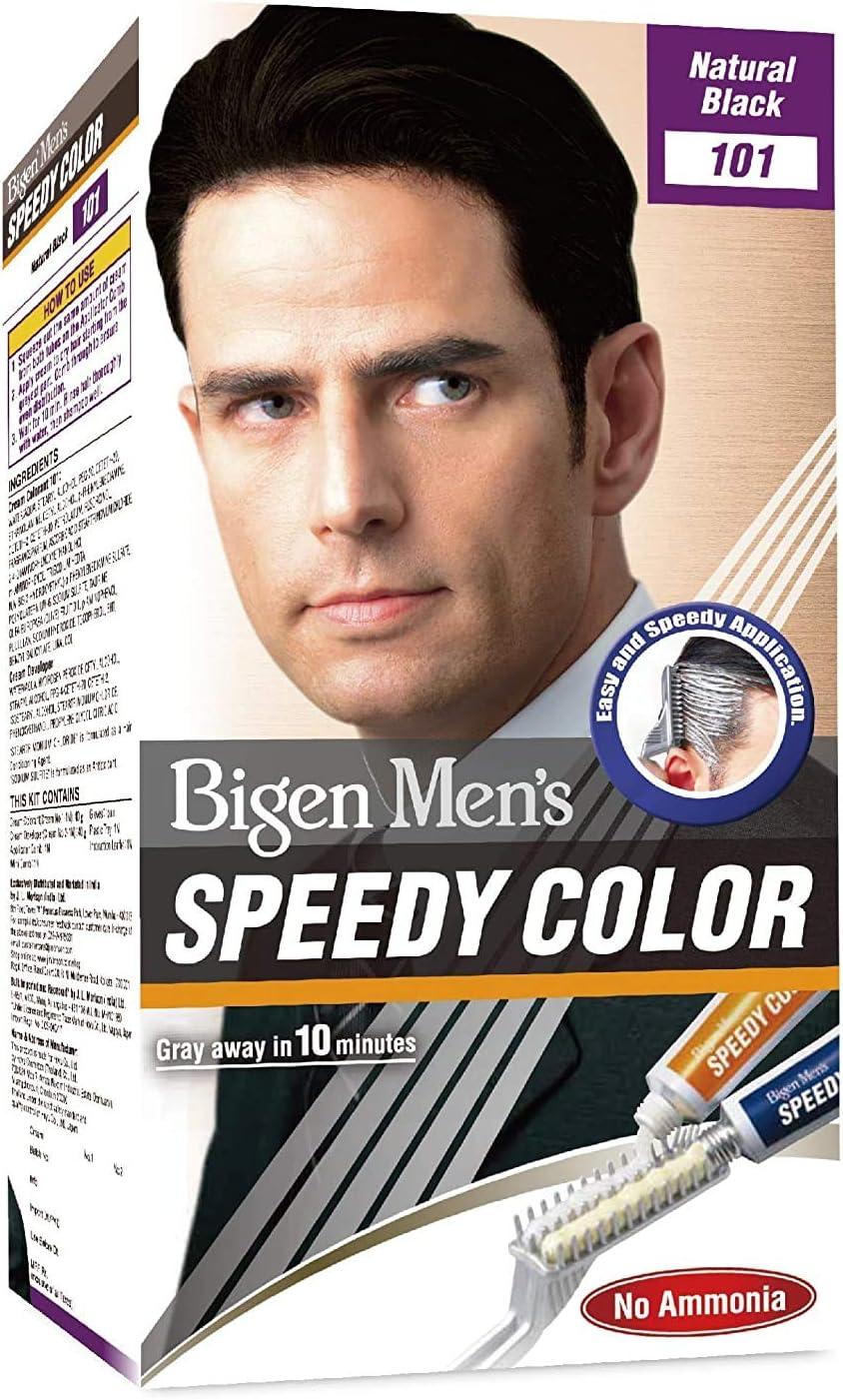 Bigen Mens Speedy Colour (Natural Black) 101