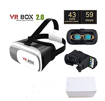 Onogal Gafas 3d De Realidad Virtual Hd Vr Box 2 0 Version Pro
