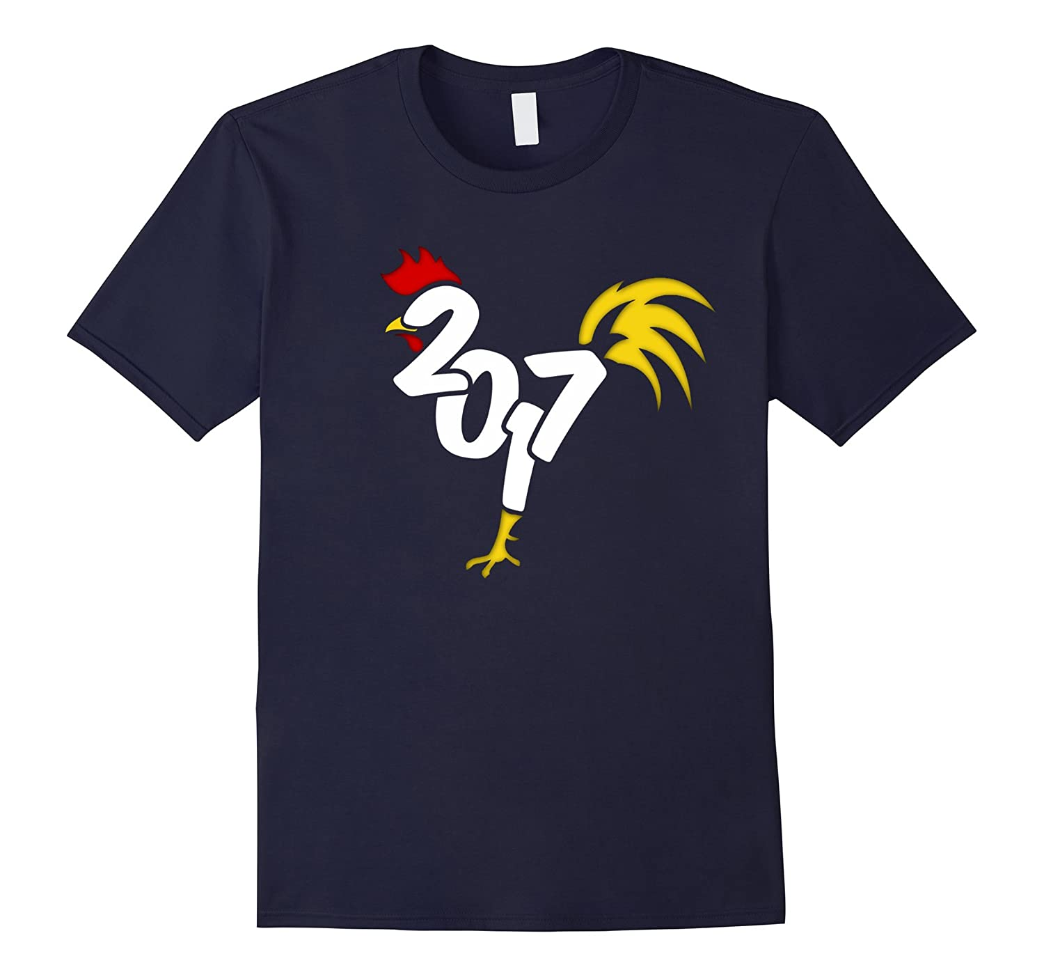Happy Chinese New Year of the Roosters 2017 Shirts-Art