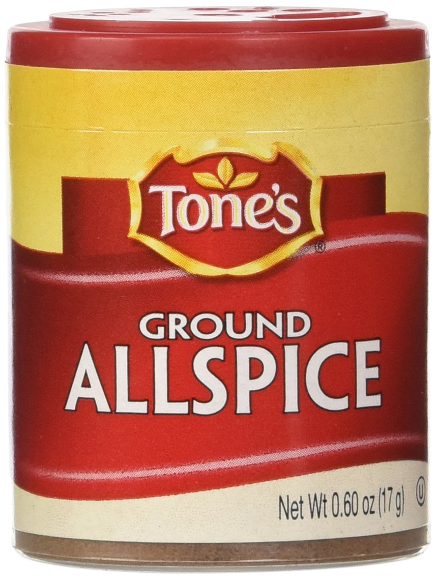 Tone's Mini's Allspice, Ground, 0.60 Ounce (Pack of 6)