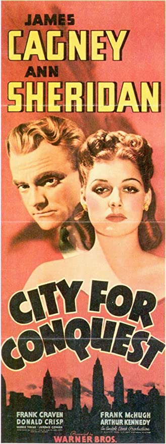 Amazon.com: City for Conquest Movie Poster (14 x 36 Inches - 36cm x 92cm) ( 1940) Insert -: Prints: Posters & Prints