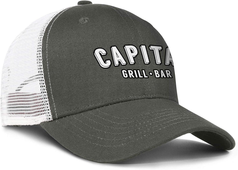 ChenBG Unisex Capital Grille Holdings Inc-Logo Adjustble Baseball Cap Dad Cap All Cotton Cowboy Hat