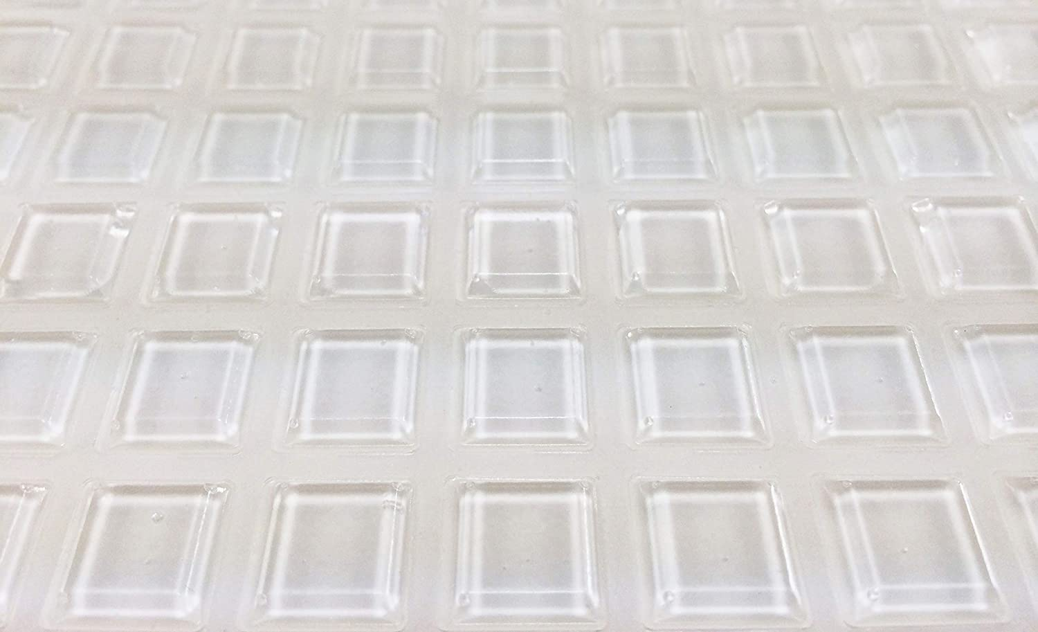 Square Clear 1/2