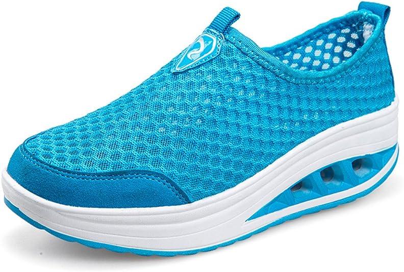 ailishabroy Zapatillas de Running de Competición Mujer Resbalón en ...