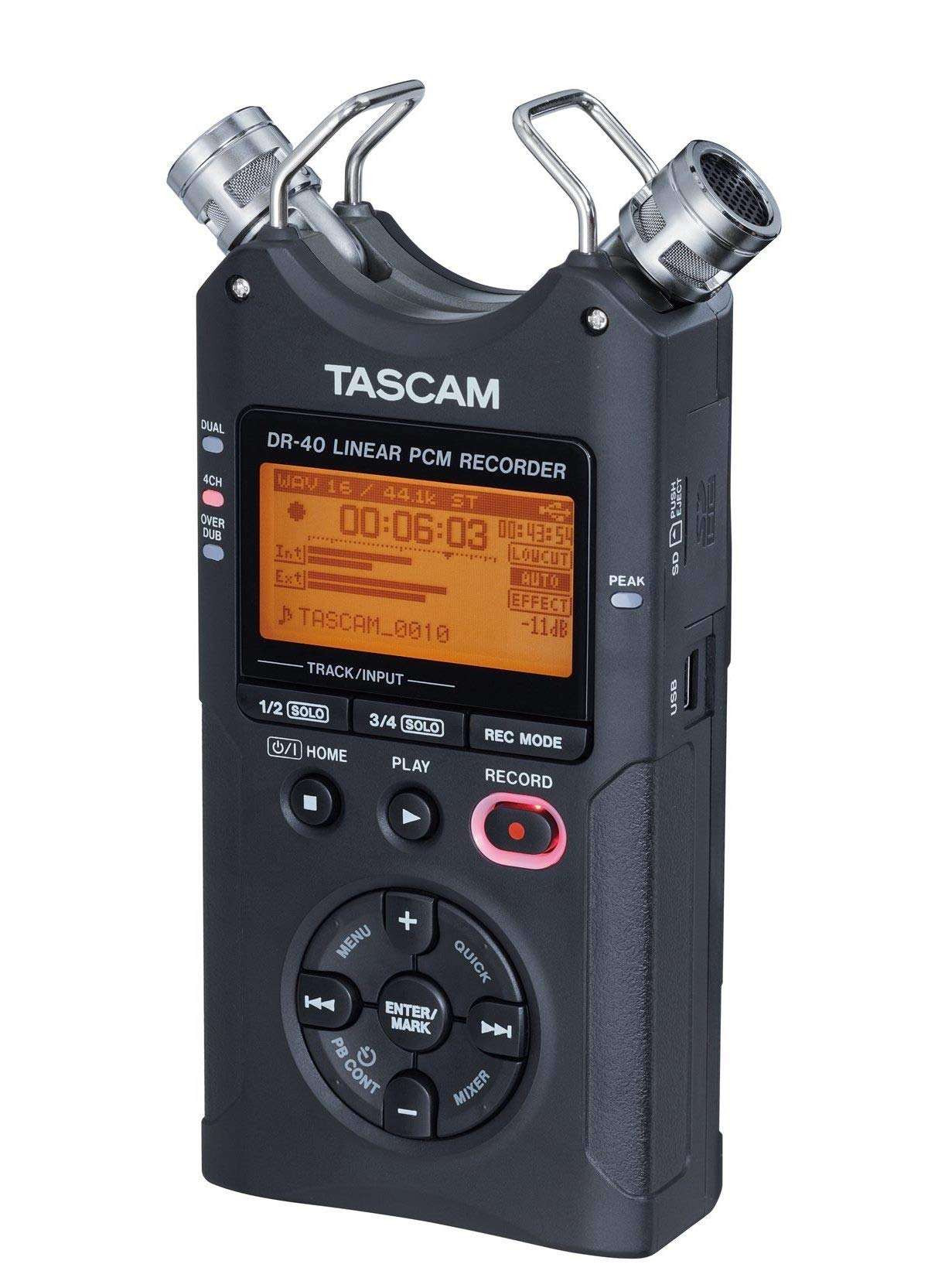 Tascam DR-40 4-Track Portable Digital Audio Recorder by Tascam (Image #19)