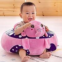 Besties Soft Plush Cotton Cushion Elephant Sofa Seat for Baby