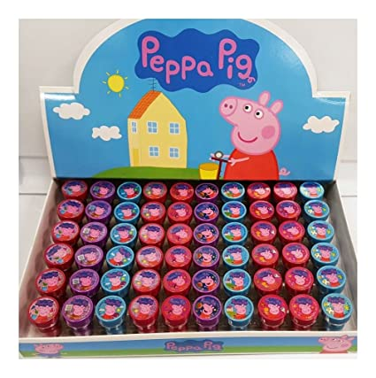 Amazoncom Peppa Pig Character Authentic Licensed Stampers Party