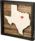 "Primitives by Kathy Wanderlust Texas Box Sign, 16.5"" x 15.5"""