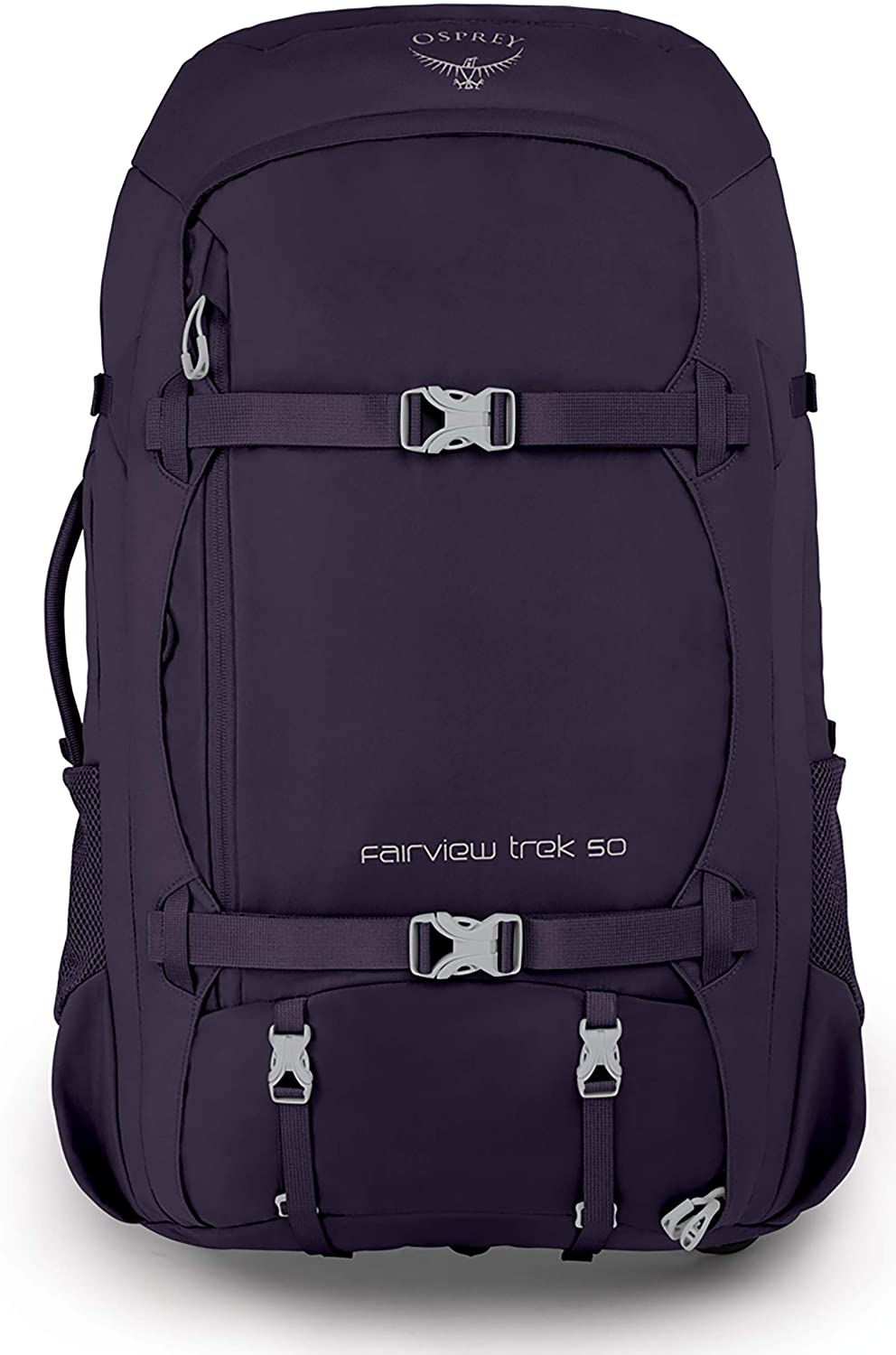 Amazon Com Osprey Packs Fairview Trek 50 Women S Travel Backpack Amulet Purple One Size Sports Outdoors
