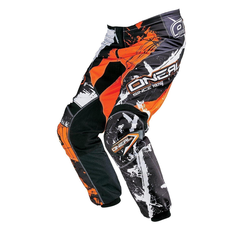 Gr/ö/ße 38//54 0124-5 ONeal Element MX Hose SHOCKER Schwarz Orange Motocross Enduro Offroad