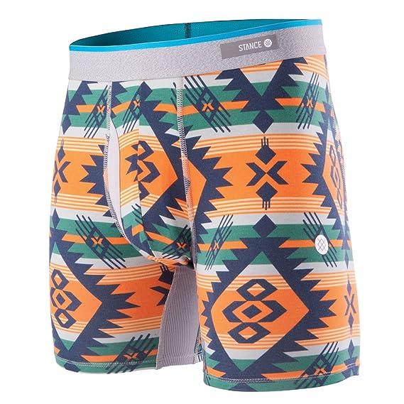 Stance Mens El Paso Boxer Brief Underwear Orange: Amazon.es: Ropa y accesorios