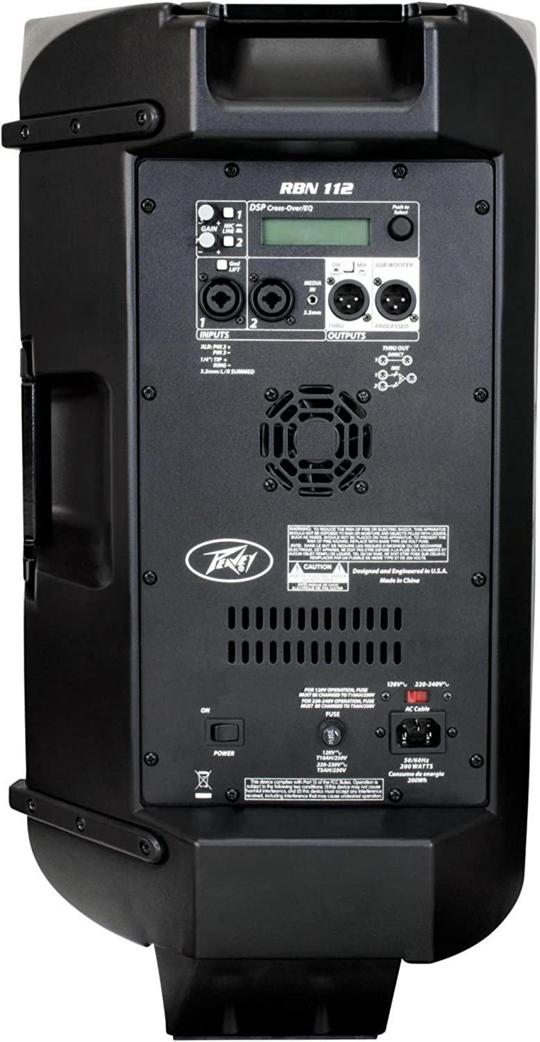 back facing peavey rbn 112